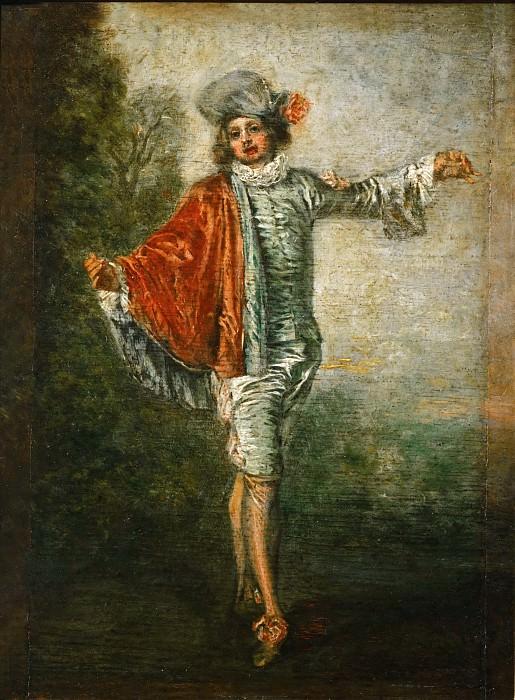 Ватто, Жан-Антуан (1684 Валансьен - 1721 Ножан-сюр-Марн) -- Равнодушный. Part 1 Louvre