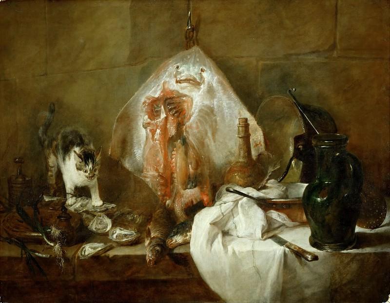 The Ray. Jean Baptiste Siméon Chardin