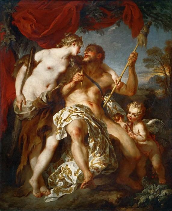 Лемуан, Франсуа (Париж 1688-1737) -- Геркулес и Омфала. часть 1 Лувр