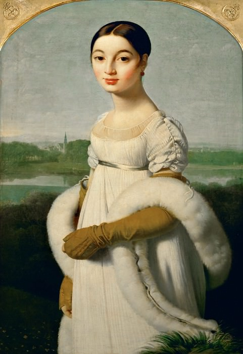 Mademoiselle Riviere. Jean Auguste Dominique Ingres