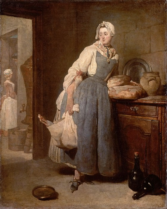 Return from Market. Jean Baptiste Siméon Chardin