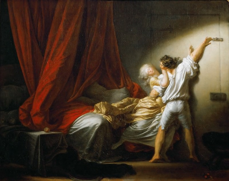 The Bolt. Jean Honore Fragonard