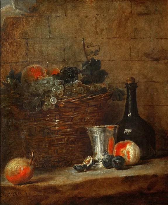 Натюрморт с фруктами. Жан-Батист Симеон Шарден