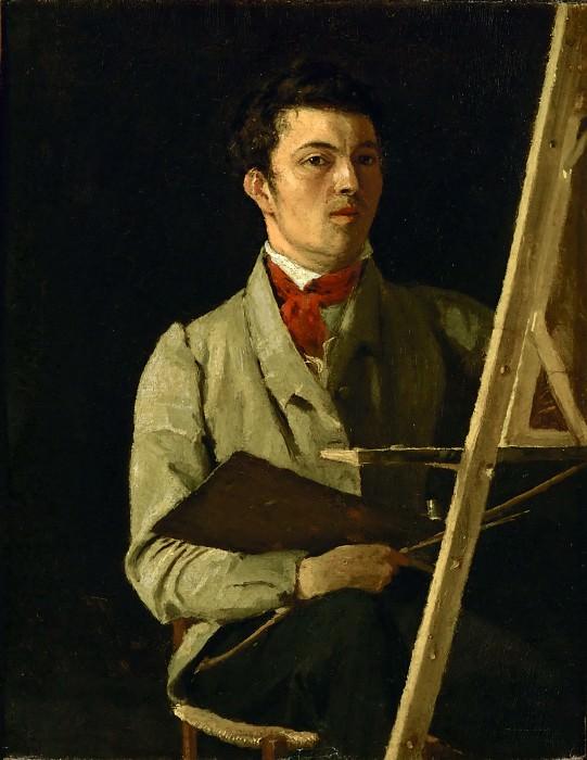Коро, Жан-Батист-Камиль (Париж 1796-1875) -- Автопортрет. Part 1 Louvre