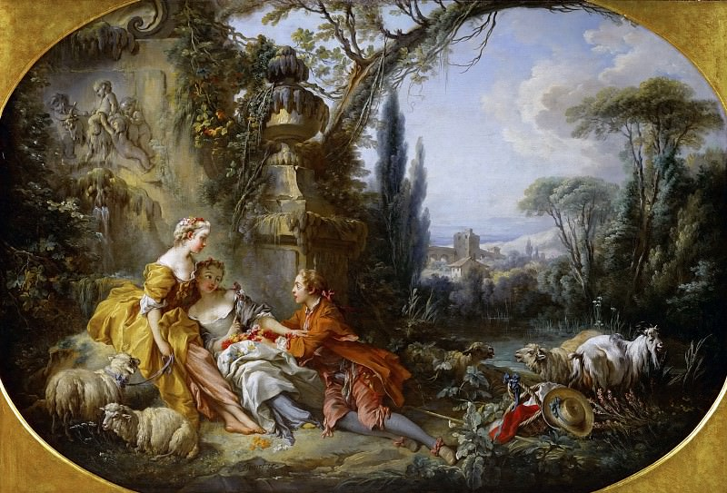 the delights of life in the country. Francois Boucher