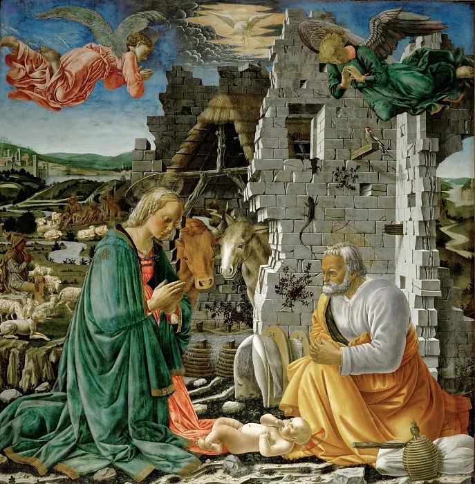 Fra Diamante -- Nativity. Part 1 Louvre