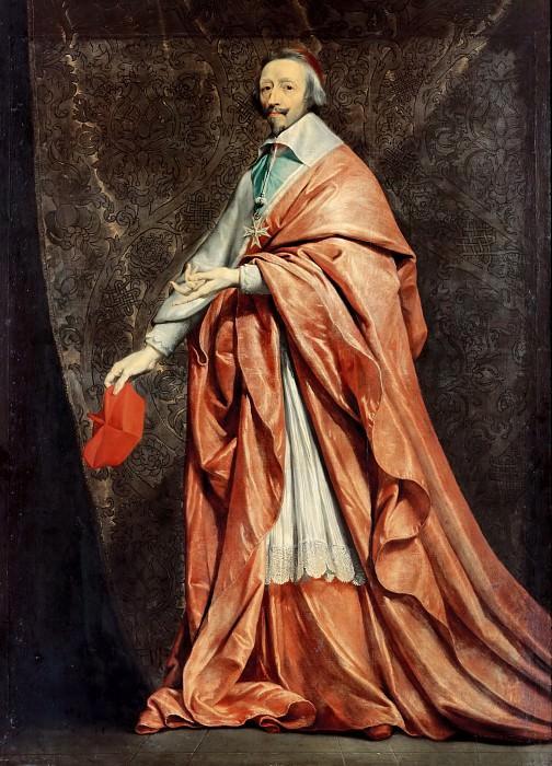 Шампень, Филипп де (1602 Брюссель - 1674 Париж) -- Портрет кардинала Ришелье. часть 1 Лувр