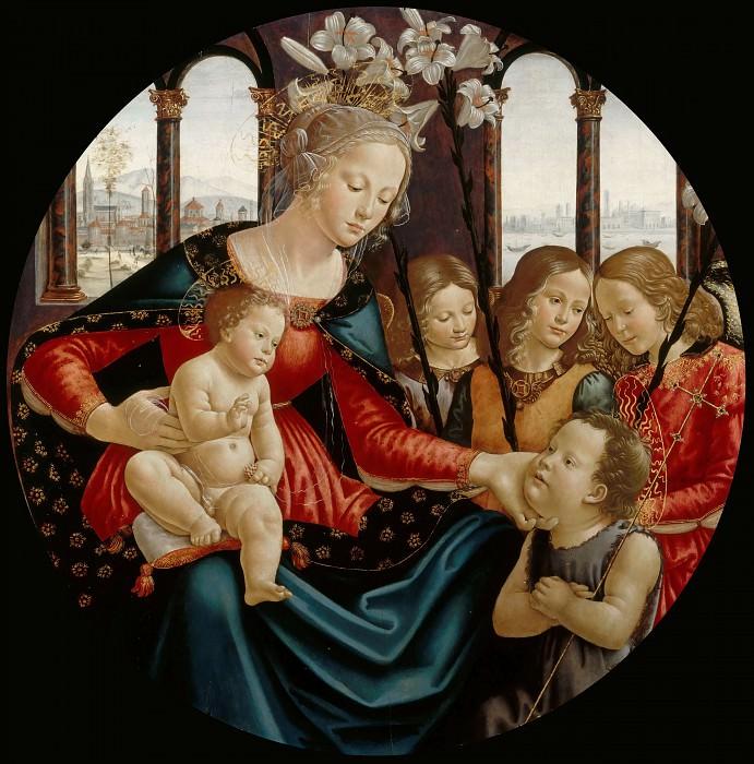 Bastiano Mainardi -- Virgin and Child. Part 1 Louvre