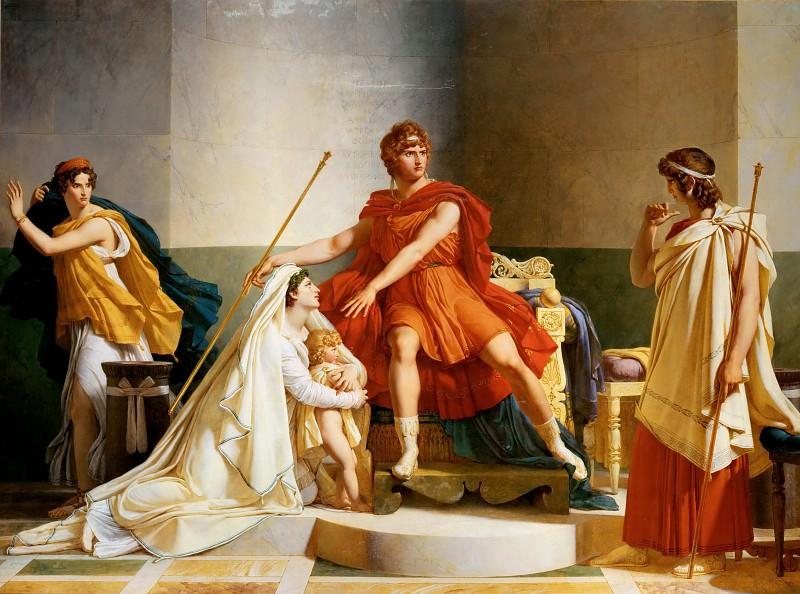 Pierre Guérin (1774-1833) -- Andromache and Pyrrhus. Part 1 Louvre
