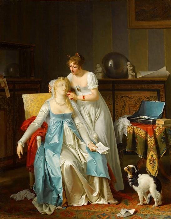 Marguerite Gérard -- Bad News (La Mauvaise Nouvelle). Part 1 Louvre