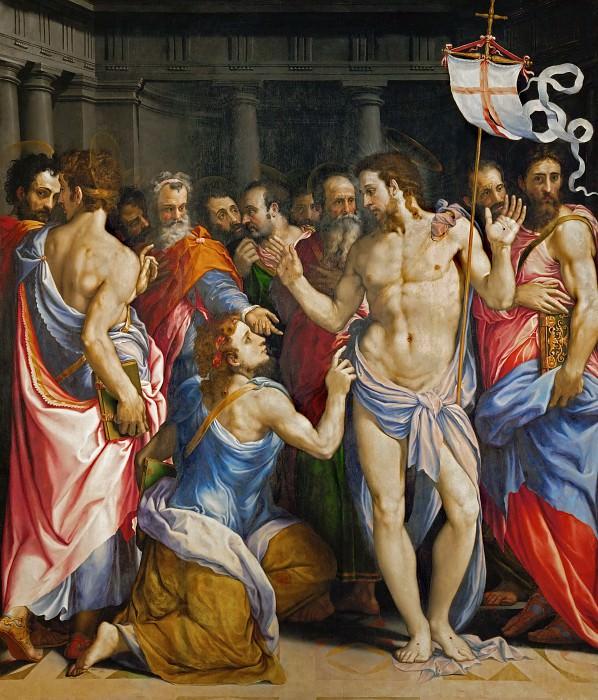 Сальвиати (Франческо де Росси) (1510 Флоренция - 1563 Рим) -- Уверение святого Фомы. Part 1 Louvre