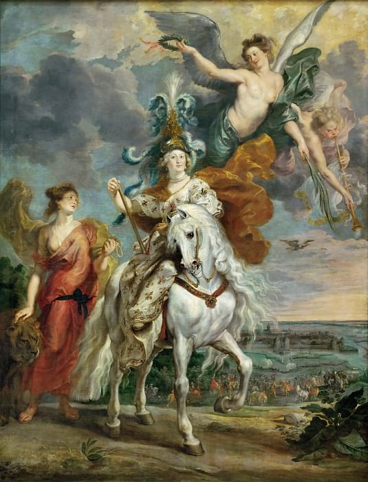 Peter Paul Rubens -- Medici Cycle: Triumph at Juliers, September 1, 1610. Peter Paul Rubens