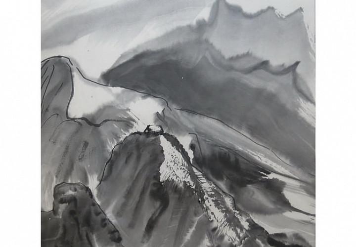 «Отблески восходящего солнца» Школа японской живописи ЛевашевойИрины. В рамках перекрестного года Россия-Япония