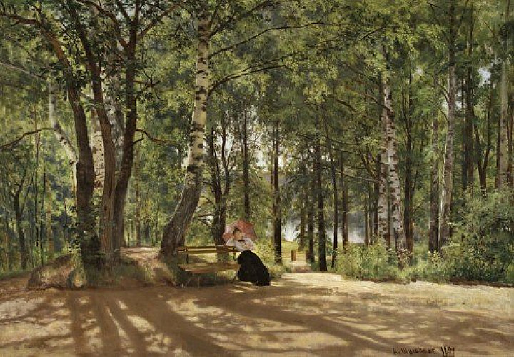 Ivan Shishkin and his artistic circle