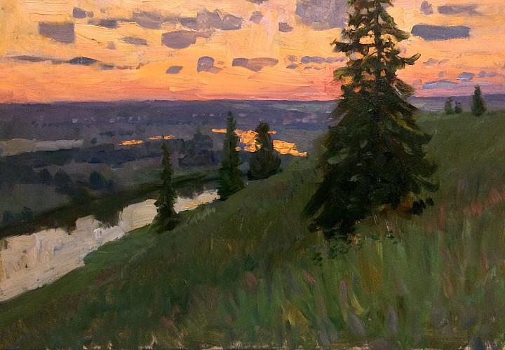 Выставка Василия Худякова «Русский пейзаж»