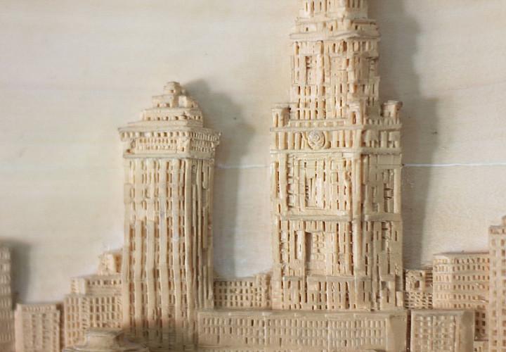 Выставка Евгения Дубовик «Город резных снов»