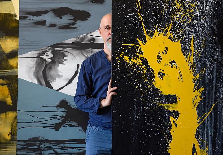 Exhibition of Valery Pchelina and Igor Mikhaylenko