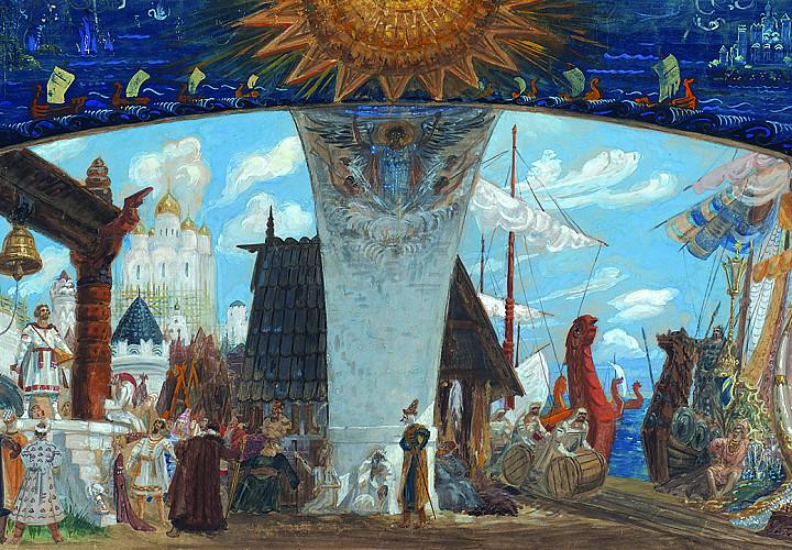 Выставка «Наш свет – театр». Акварель и графика из собрания А.Г. Егорова