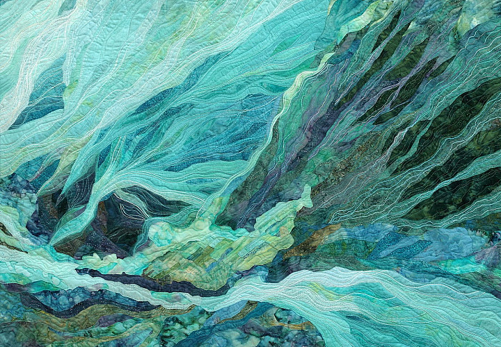 Персональная выставка Ирины Ворониной «Живое дыхание квилта». Нить. Ткань. Материя