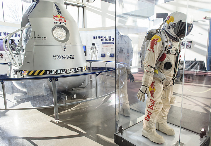 Original Red Bull Stratos Capsule