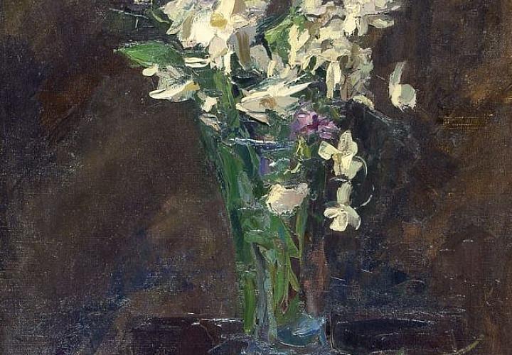 Выставка одной картины «Борис Яковлев (1890-1972) «Анемоны» 1945 г.»