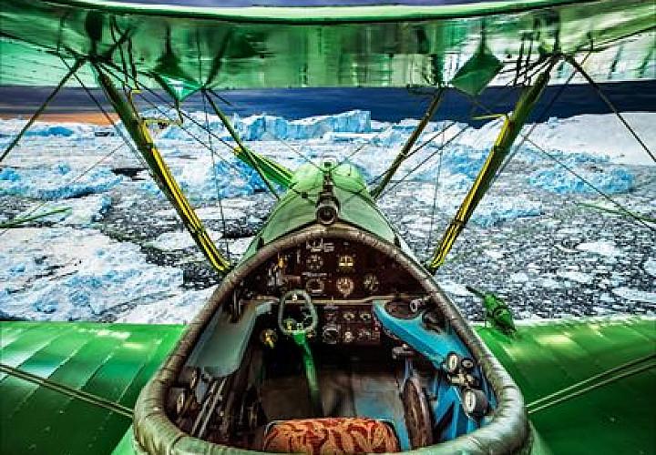 Фотовыставка Саши Генциса «Управляемые небеса» К 75-летию Великой Победы