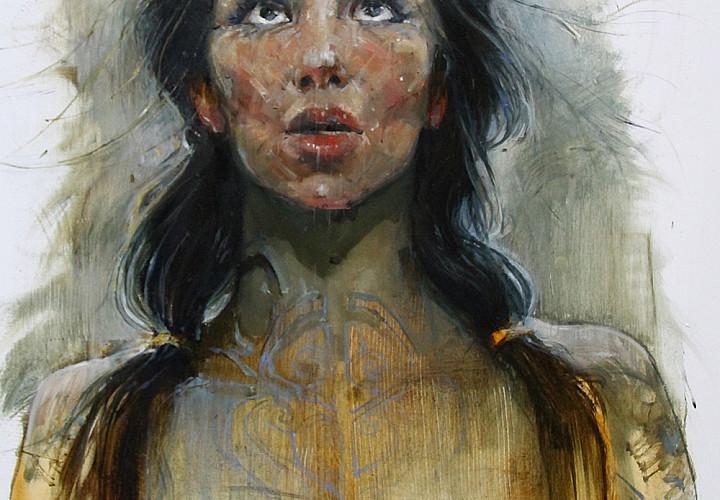 Ausstellung von Gemälden von Dmitry Chaus