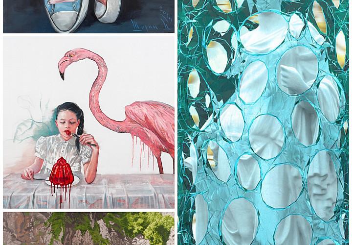 Выставка семи современных российских художников  «На следующий день»