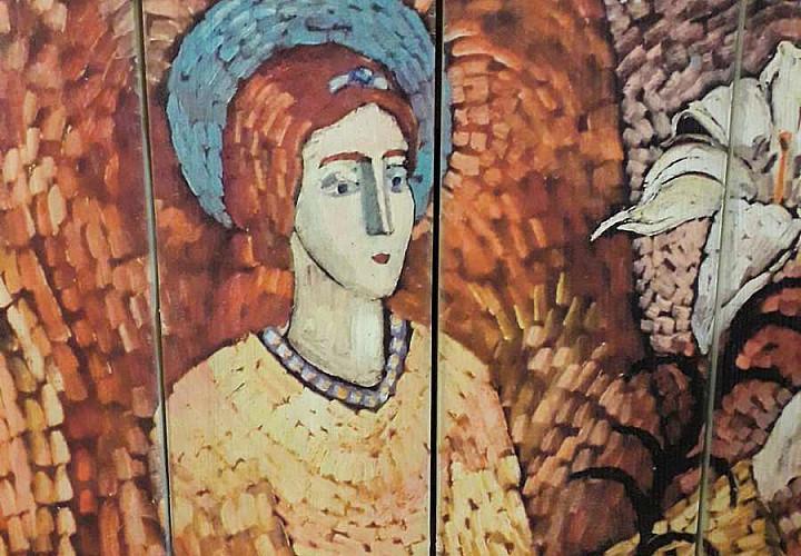 Выставка wood-картин «Лики ангелов мира»