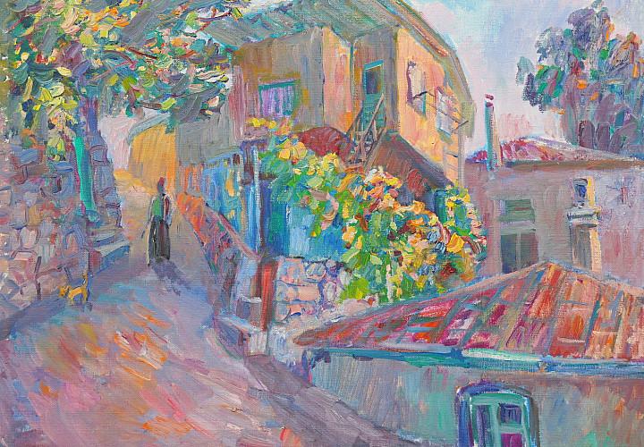 Выставка А. Фатеевой «Крымский пейзаж»