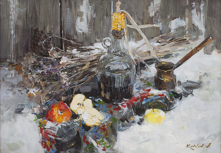 «Холст, масло». Владимир Ковалев