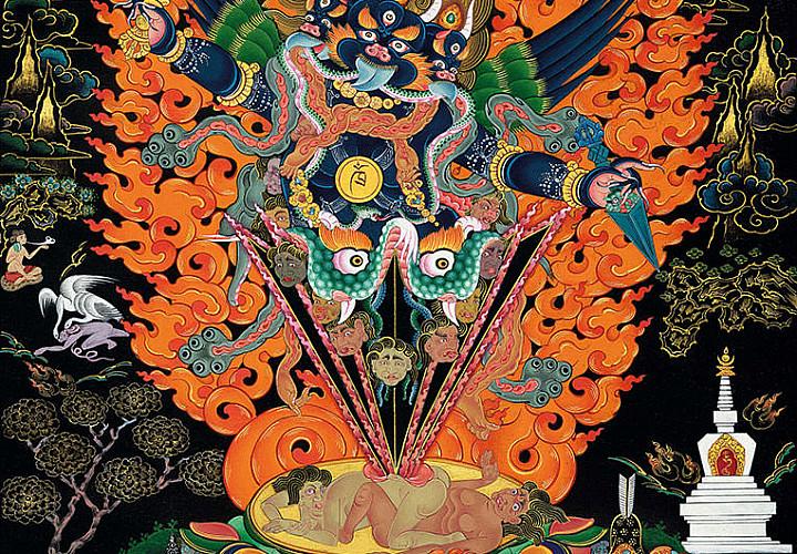 «Живопись танка. Медитация и философия Востока». Выставка произведений Николая Дудко