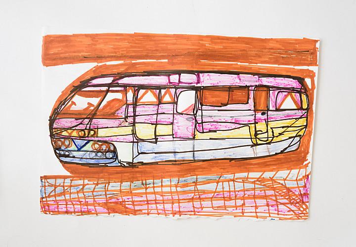 Выставка графики Юрия Козлова Человек амфибия – Подводная лодка
