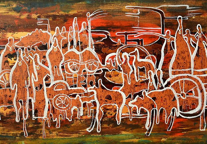 Выставка современных бурятских художников «Моя Родина»