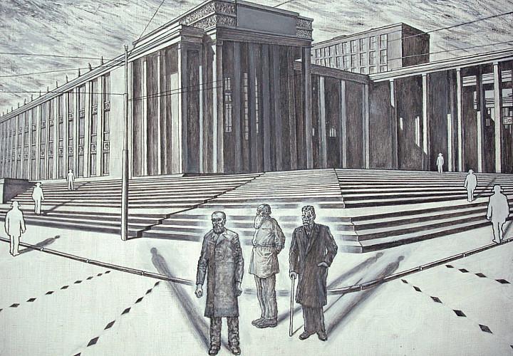 Выставка Александра Элмара «Назад в будущее» 12+