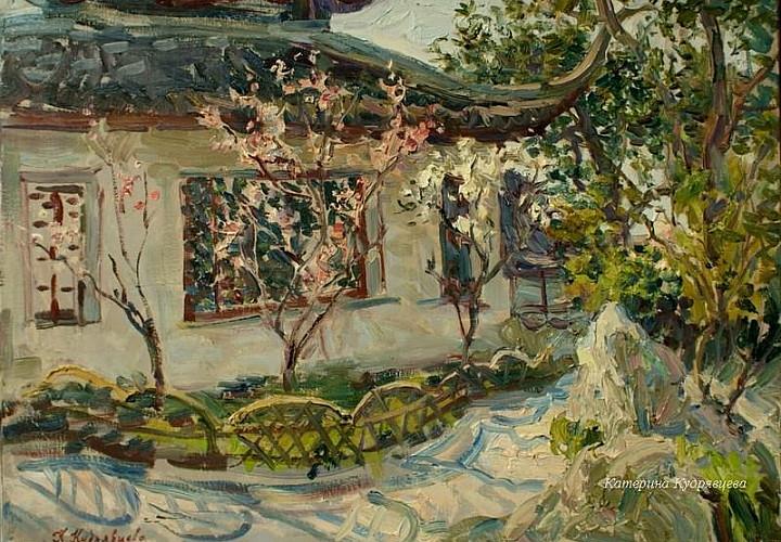 Выставка живописи Екатерины Кудрявцевой «Лепестки»