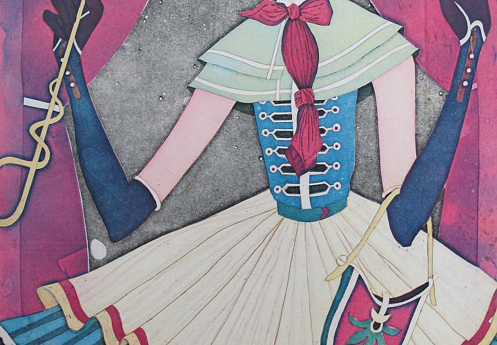 Exhibition of Japanese graphic artist Yuji Hiratsuki -