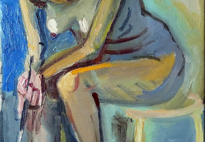 Выставка Анатолия Заславского «Лицо и тело»
