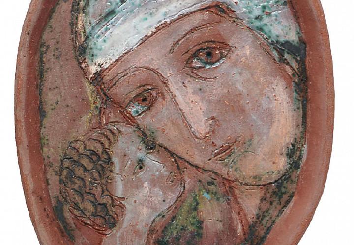 Выставка произведений Валентины Кузнецовой. Керамика
