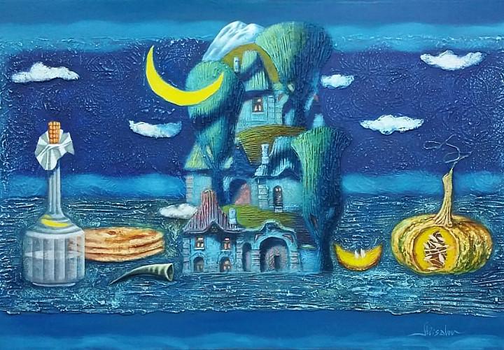 «Дом, в котором я живу…» Выставка произведений Юрия Абисалова