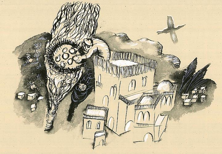 Выставка «Увидеть слово» .  Иллюстрации Эллы Бышевской и Михаила Яхилевича  к новому изданию Торы (Иерусалим)