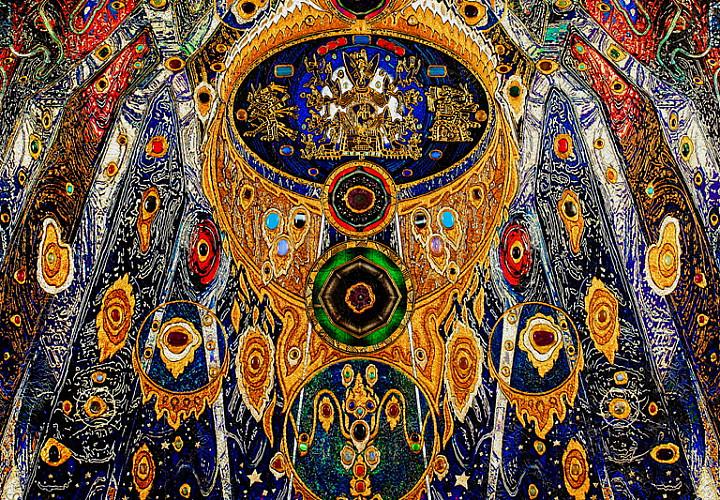 «Купание во времени». Выставка произведений Дмитрия Санджиева  к 70-летию художника. Живопись, графика