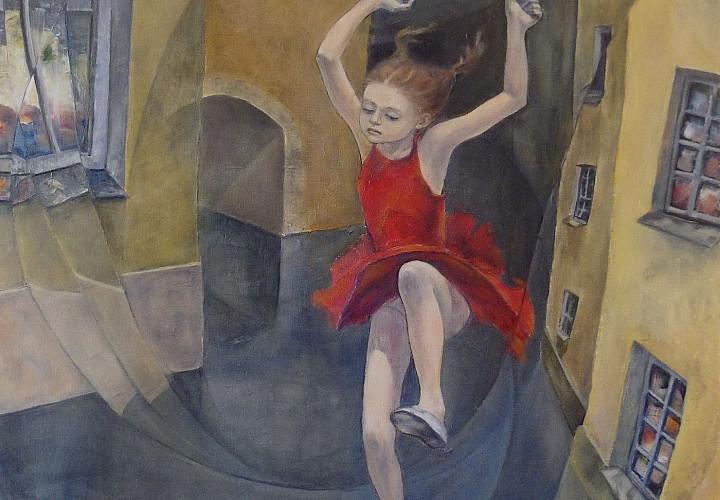 Выставка живописи Оксаны Мигур ЛЮДИ И СТЕНЫ