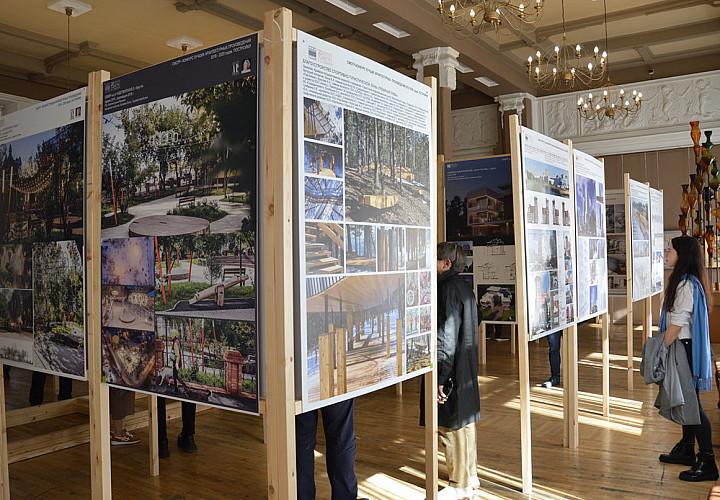 Выставка «Город во времени»