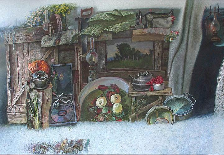 «Палитра памяти». Выставка произведений Анатолия Рыбкина