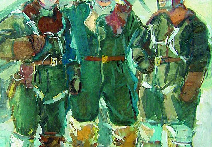 Выставка «Искусство, опаленное войной. Акварель и графика из собрания А.Г. Егорова»
