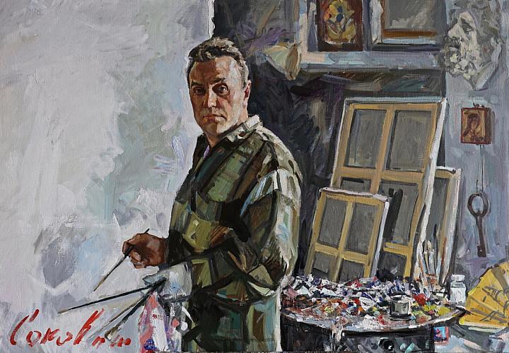 Exhibition of works by Vladimir Sokovnin