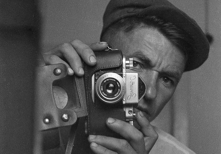Exhibition of the centenary Belarusian photographer Jan Komar