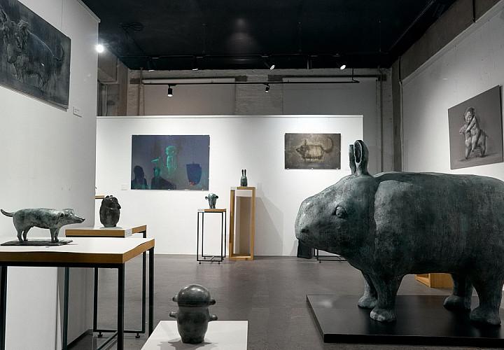 Выставка Ольги Муравиной «Лёгкое забытьё»