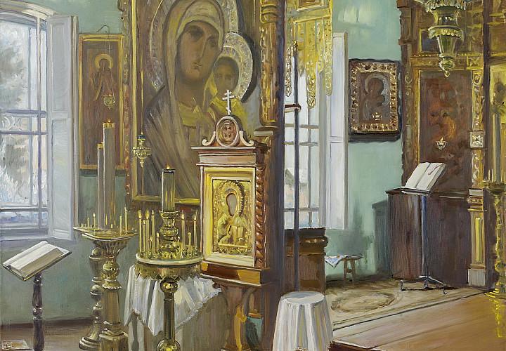 «Под шум берёз». Выставка произведений Олега Молчанова